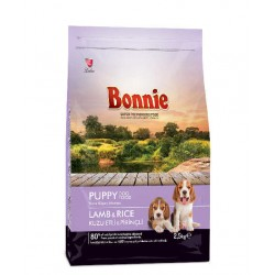 BONNIE PUPPY FOOD LAMB AND RICE 2,50KG
